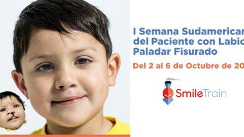 Smile Train y Fundación Gantz se unen para celebrar la I Semana Sudamericana del Paciente con labio y paladar fisurado