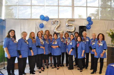 Damas Voluntarias, 25 años entregando sonrisas a los niños de Fundación Gantz
