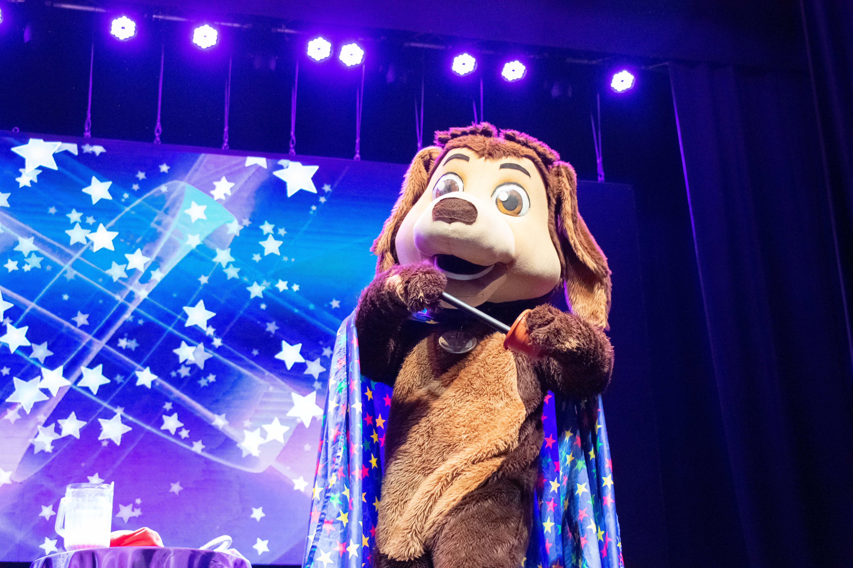 Show del Perro Chocolo a Beneficio de Fundación Gantz