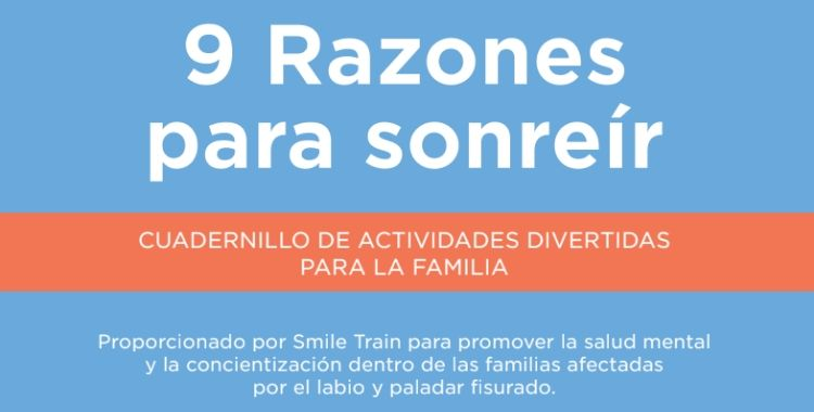Libro de actividades «9 Razones para Sonreír»
