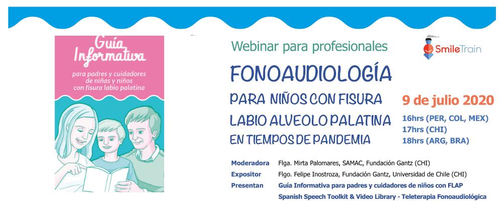 Webinar para profesionales de Fonoaudiología
