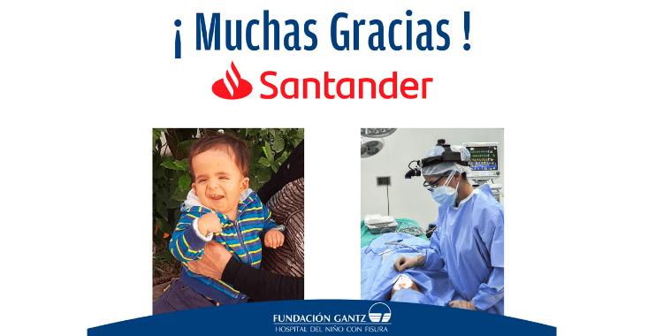 Gracias Banco Santander Sucursal Plaza Italia