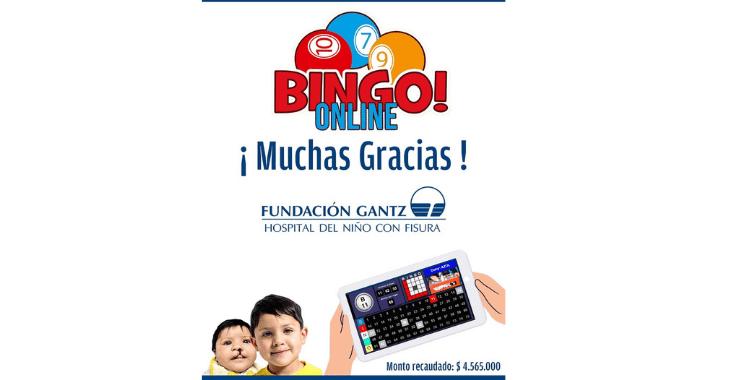 Bingo Solidario Fundación Gantz